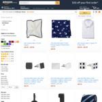 40% off Van Heusen Products E.g Men's Slim Fit Shirt Solid, White $12.57, Men's Euro-Tailored Fit Shirt Check $21 @ Amazon AU