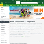 Win a Gold Coast Family Getaway Worth $8,770 or 1 of 10 Hotel Transylvania 3 Prize Packs from Woolworths [Rewards Members]
