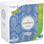 Emporia 3ply Toilet Paper 48pk $15 @ Big W