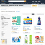 Save 20% on Orders of $50 or More on Select Everyday Essentials @ Amazon AU