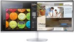 "$996 Samsung 34"" Ultra WQHD Curved Monitor (LC34F791WQEXXY - CF791) @ Harvey Norman (w Amex offer $946)"