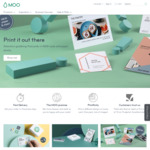 25% off @ Moo (Excludes Gift Cards and Shipping)