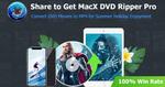 Free: MacX DVD Ripper Pro V6.1.0 (Summer Giveaway)