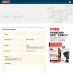 Free SPD ZeroG Dry Dog Food Sample @ Prime100