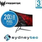 Acer Predator X34P Curved 34in Ultra-Wide 100/120hz G-Sync IPS Gaming Monitor $1251.12 Delivered @ Sydneytec eBay