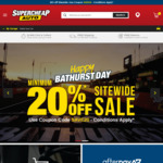 20% off Sitewide Sale @ Supercheap Auto (Online Only)