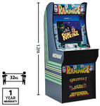 Freestanding Retro Arcade Machine - Rampage or Street Fighter II $499 | Cocoon 3D Printer $299 @ ALDI