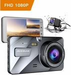 """JEEMAK 4"""" Dash Cam for Cars FHD 1080P Front and Rear Dashboard Camera $74.99 (Save $24.99) Delivered @ Campark Direct Amazon AU"""