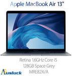 Apple MacBook Air 2018 i5 (8th Gen Y), 8GB, 128GB SSD $1,556.10 at Ausluck eBay