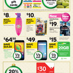Buy Any $50 Ultimate Gift Card and Get $5 Woolworths eGift Card, 20% off All Vodafone Recharge @ Woolworths