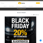 20% off Storewide for Black Friday @ iilumo (Automotive Bulbs)