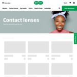 10% off Contact Lens Orders + Free Standard Delivery @ Specsavers