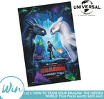 Win 1 of 2 How to Train Your Dragon: The Hidden World Prize Packs Worth $229 from Mum's Lounge