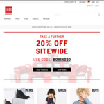 20% off Sitewide @ Shoe Warehouse