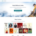 Free Blinkist (6 Months), Pocket Premium (12 Months), MUBI (12 Months), Audm, FarFaria via Free Scribd 30 Day Trial Subscription