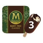 1/2 Price Magnum Dairy Free Classic/Almond Ice Cream (3 Pack) $3.50 @ Coles
