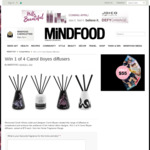 Win 1 of 4 Carrol Boyes Diffusers Worth $70 from MiNDFOOD