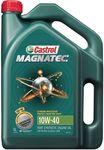 50% off Castrol Magnatec Engine Oil 10W-40 5 Litre - $23.39, Rockwell ShopSeries Bench Grinder 125mm/150W $30 @ Supercheap Auto