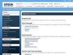 Epson Clearance Centre Deals - Carton Damaged
