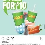 [NSW, VIC, WA] Any 2 Medium Boosts for $10 @ Boost Juice
