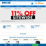 11% off Sitewide @ Bing Lee