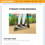 [NSW] Free Fidget Spinner, Phone Mount or Helmet with a Product Test Ride Booking @ Walk Smart (Pyrmont)