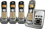 Uniden DECT1735+3 Cordless Phone Quad Pack - $78 + Delivery or Free C&C at The Good Guys + The Good Guys eBay Store