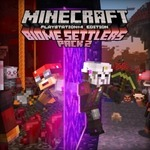 [PS4] Free - Minecraft: Redstone Specialists Skin Pack, Biome Settlers Skin Pack 2 (Save $4.95 Each) @ PlayStation Store
