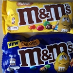 $0.50 M&M's or $2 for 5 Packs (40g or 46g) @ The Reject Shop