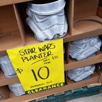 [VIC] Star Wars Themed Planter $10 @ Bunnings Moorabbin