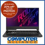 ASUS ROG Strix GL531GT 15.6in 120Hz i7-9750H GTX1650 $1436 + Delivery (Free with eBay Plus) @ Computer Alliance eBay