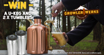 Win a GrowlerWerks uKeg 128 Beer Growler & Two uPint Chalices Worth $399.95 from Wild Earth