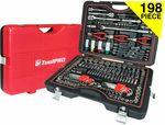 Toolpro Automotive Tool Kit - 198 Piece $198 @ Supercheap Auto