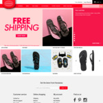 Free Shipping for Havaianas Online
