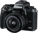 Canon EOS M5 15-45MM Single Lens Kit $804.60 C&C @ The Good Guys