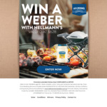 Win 1 of 30 Weber BBQs Worth $628 Each from Botany International Foods [Purchase a Hellmann's Mayonnaise Product from IGA]