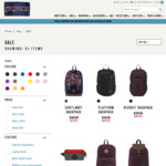 Up to 60% off Backpacks (Incredibles Superbreak Backpack $24.95, Compadre $39.95) + Shipping @ Jansport