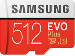 Samsung Evo Plus 512GB Micro SD Card $100.76 + Delivery ($0 eBay Plus) @ FFT eBay