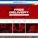 Free Delivery with $50+ Spend (Save $10+) @ SportsDirect