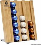 Podzania Nespresso Capsule Bamboo Holder $34.95 (Was $69.95) @ Podzania Amazon AU