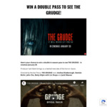 Win 1 of 50 Double Passes to The Grudge Worth $40 from Moshtix
