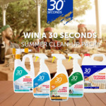 Win 1 of 5 Summer Cleaning Packs Worth $150 from 30 Seconds
