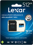 Lexar 633x 512GB Micro SD Card $99.95 + $3.95 Delivery @ Flash Trend