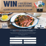 Win a Tokyo 2020 Olympic Games Experience for 2 Worth $26,488 +/- 1 of 600 Cube Everdure BBQs from Meat & Livestock Australia