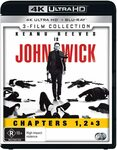 3 Movie Franchise Pack (John Wick / John Wick: 2 / John Wick: 3 Parabellum) $38.48 + Delivery (Free with Prime) @ Amazon AU