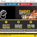 Large Premium Pizza, Garlic Bread & 375ml Drink $10 (Pick up before 4pm) @ Domino's Pizza (Selected Stores)