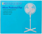 Ring Grip 40cm Pedestal Fan $3.75 @ The Reject Shop (in-store)