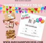 [VIC] $20 Gift Voucher with All Online Purchase @ Burch and Purchese