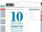 Kikki K Secret Sale - Celebrating 10 Years. 25% off. Expires 10 Oct 2011