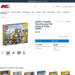 LEGO Creator 3 in 1 Townhouse Pet Shop Cafe 31097 $99 Delivered @ Kmart